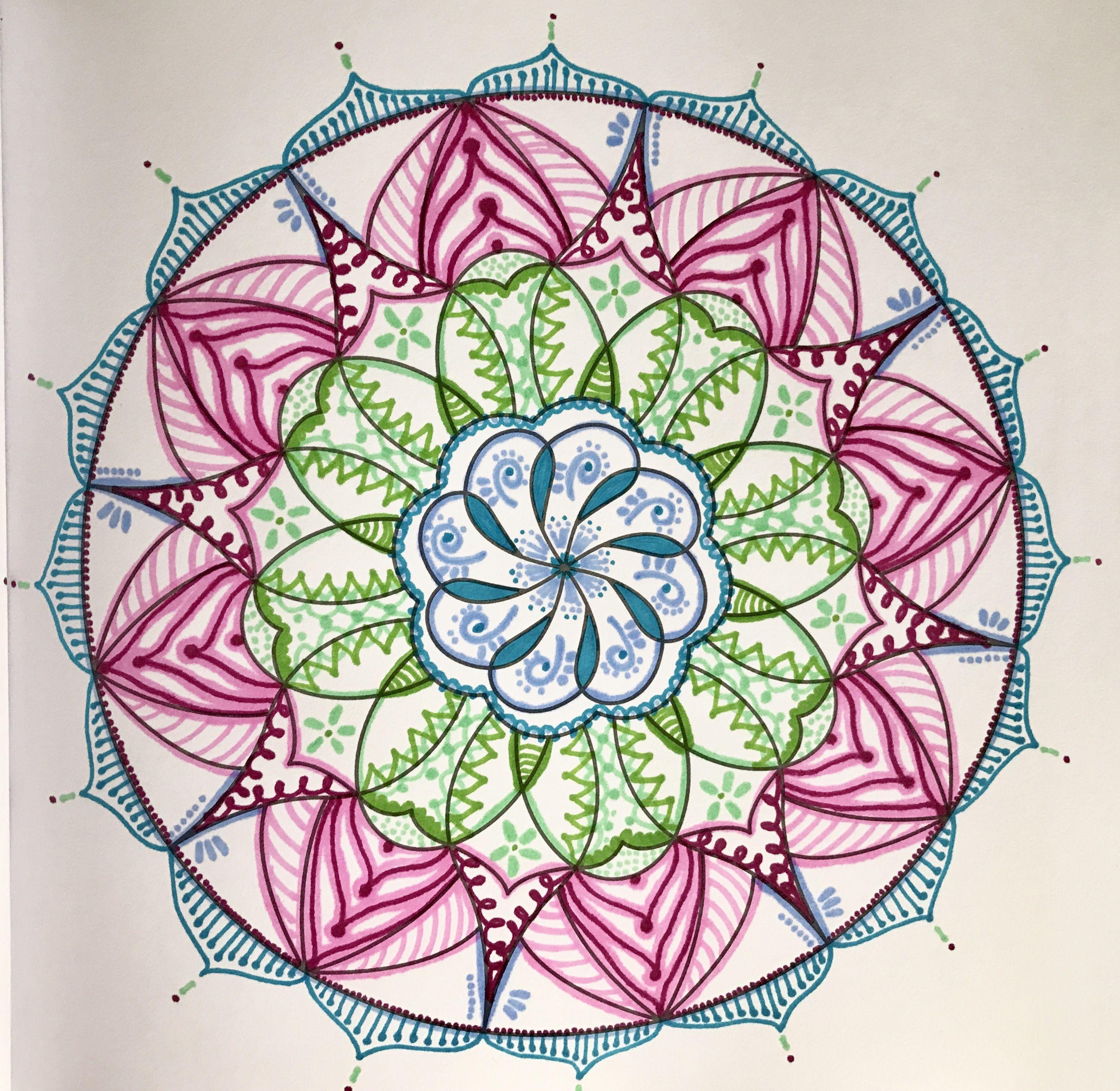 Mandala para la prosperidad #mandalasparalaabundanciaylaprosperidad  Hecha por Adriana Patiño