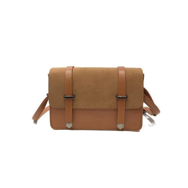 de1932acc48e DALFR Women Pu Leather Crossbody Bag Luxury Brand Shoulder Bags Ladies  Small Handbag Women Messenger Bags for Women