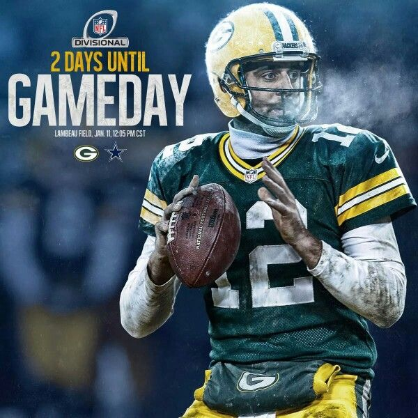 2 Days Until Game Day Green Bay Packers Football Bears Packers Nfl Football Steelers