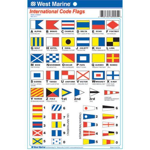 West Marine In 2020 Flag Code Flag Decal Flag