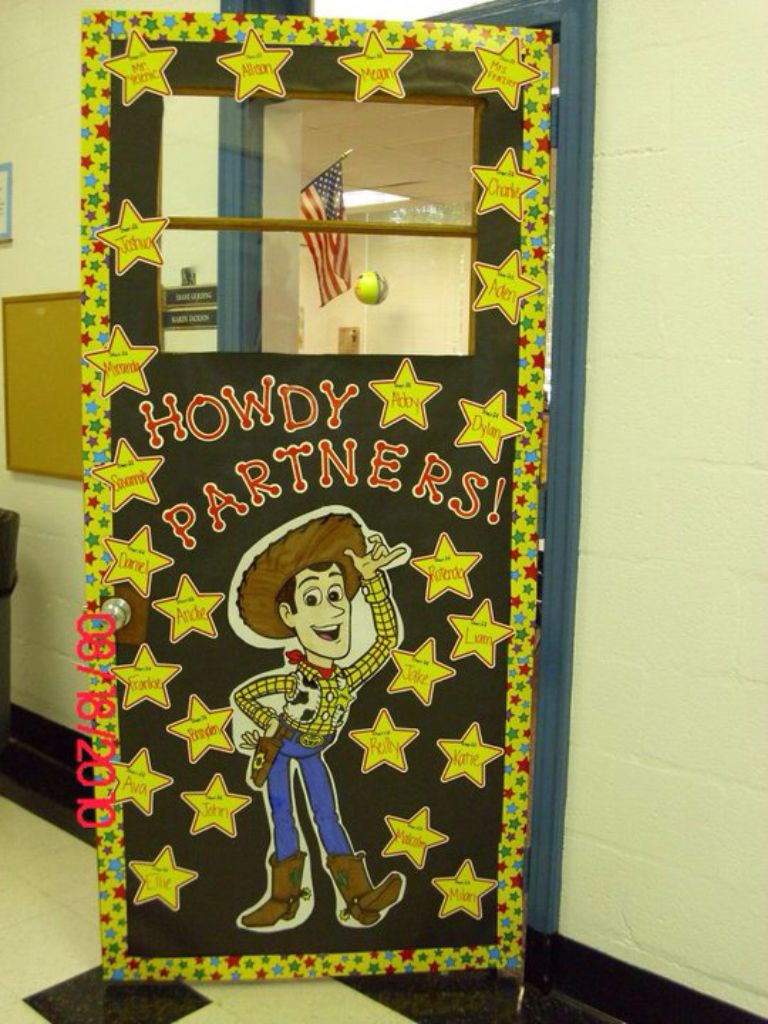 Classroom Decoration Disney ~ Toy story door teacher swag pinterest doors and