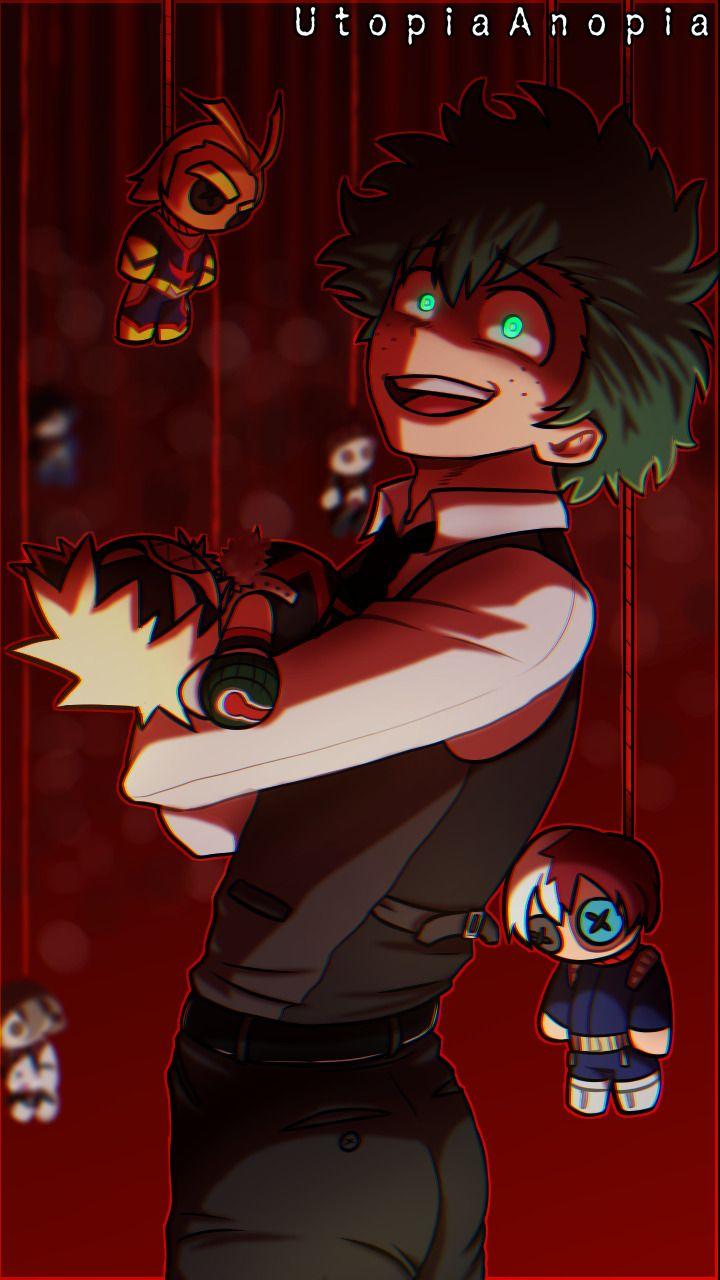 Villain Deku In 2020 My Hero Academia Episodes Villain Deku Deku Boku No Hero