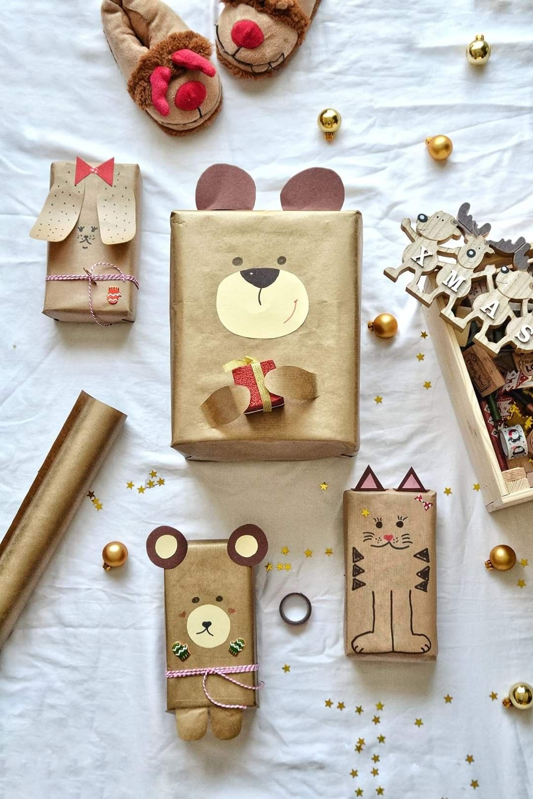 Pin by Blessed Be on Deco wrapping | Gifts, Creative gift