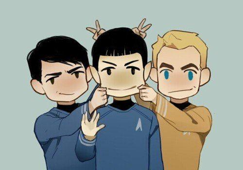 McCoy & Kirk & Spock