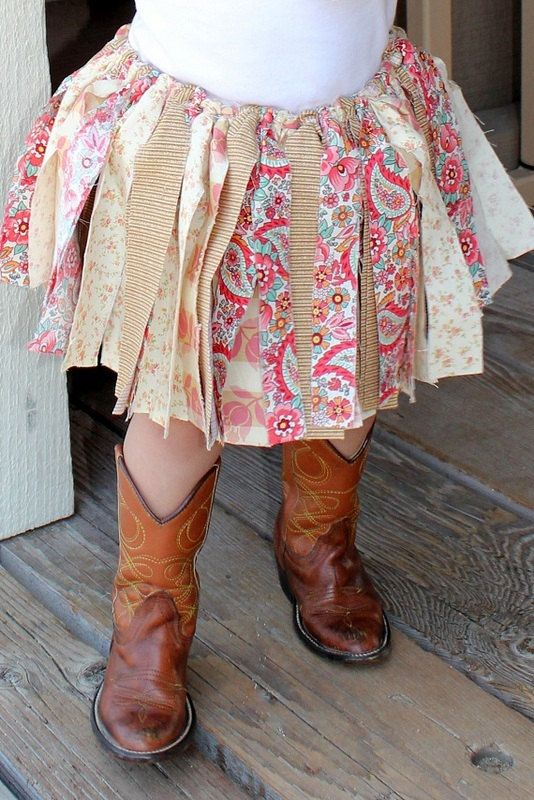 Tutu for baby...Tutu for girls...Multicolored fabric tutu