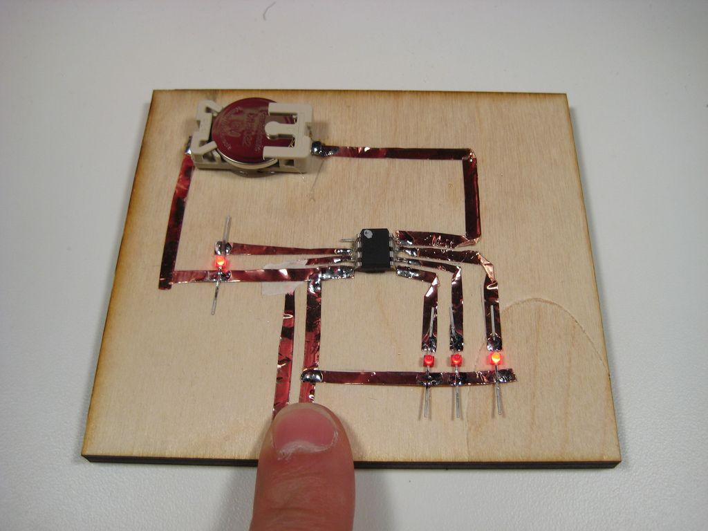 Copper foil arduino circuits google search paper