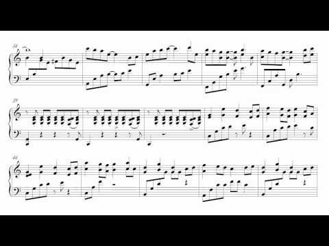 Theme from Terms of Endearment for piano solo (with sheet
