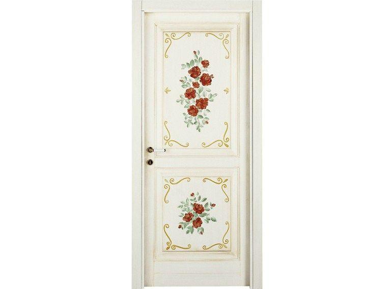 Porte interne decorate a mano LUNAMARE - LE PORTE - DiBi Porte ...