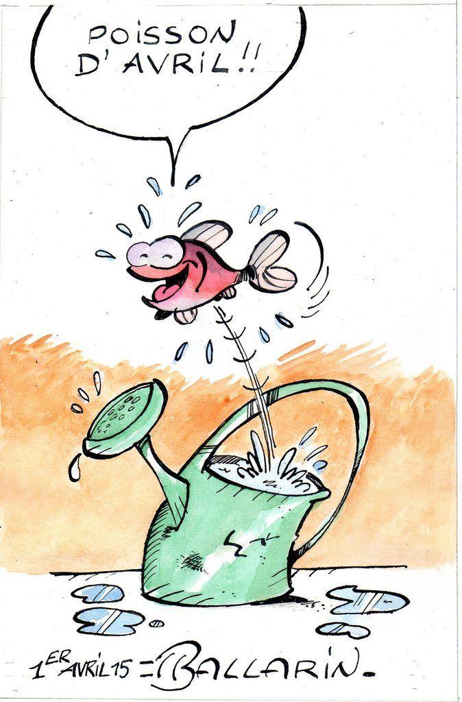 POISSON D'AVRIL dessin humour | Dessin humour, Dessin
