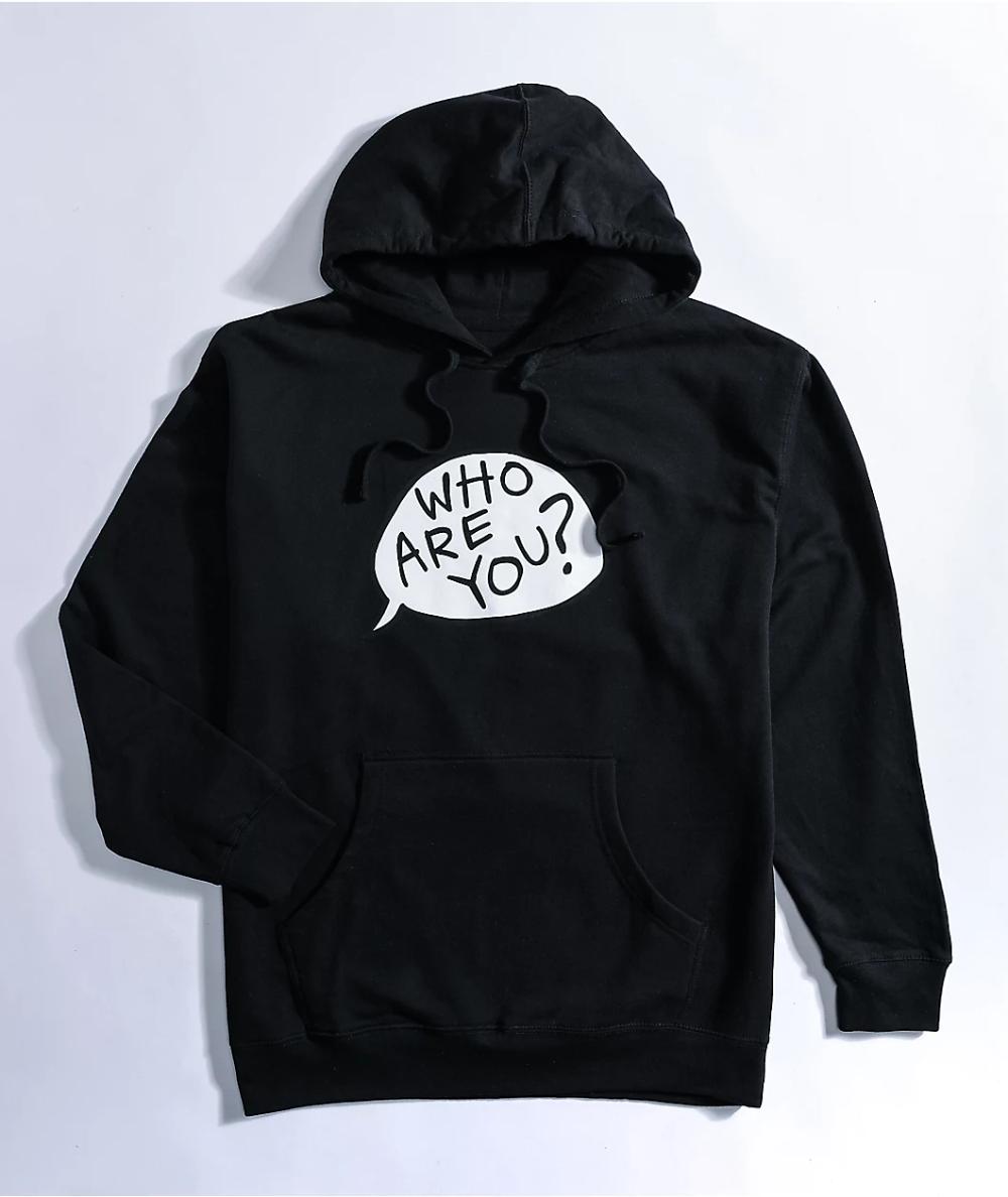 Salem7 Stranger Black Hoodie Zumiez Mens Sweatshirts Hoodie Hoodies Black Hoodie [ 1188 x 1000 Pixel ]