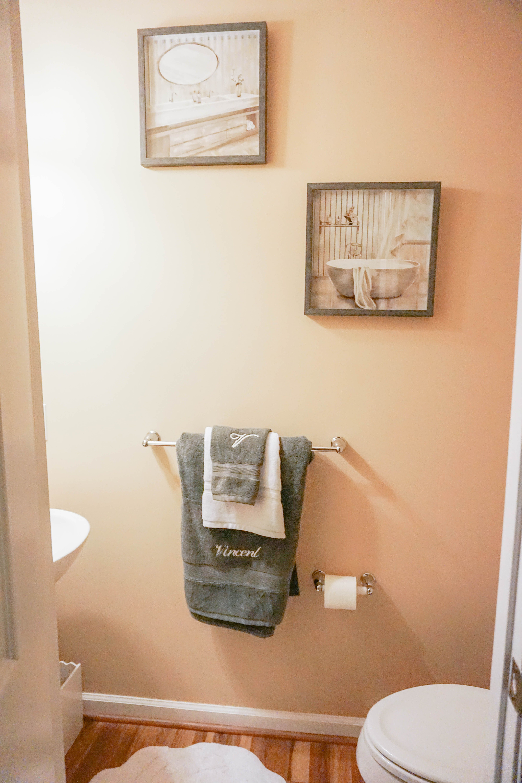 Our New Home Bathroom Decor