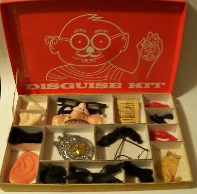 Vintage 1960's Disguise Kit - Creative Playthings | eBay listing ...