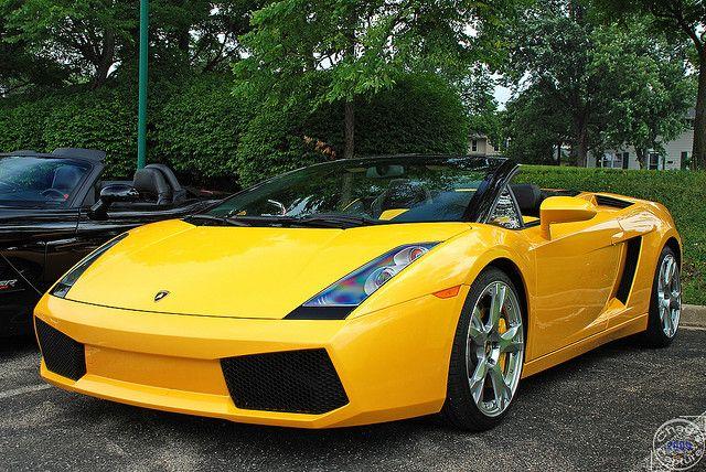 Yellow Lamborghini Gallardo Spyder Rides Lamborghini Gallardo