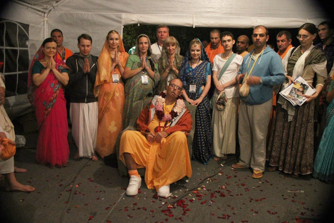 By your servants from Russian & CIS ToVP team We are grateful to you for engaging us in fulfilling Srila Prabhupada's personal desire – construction of the magnificent Temple of the Golden Age!…