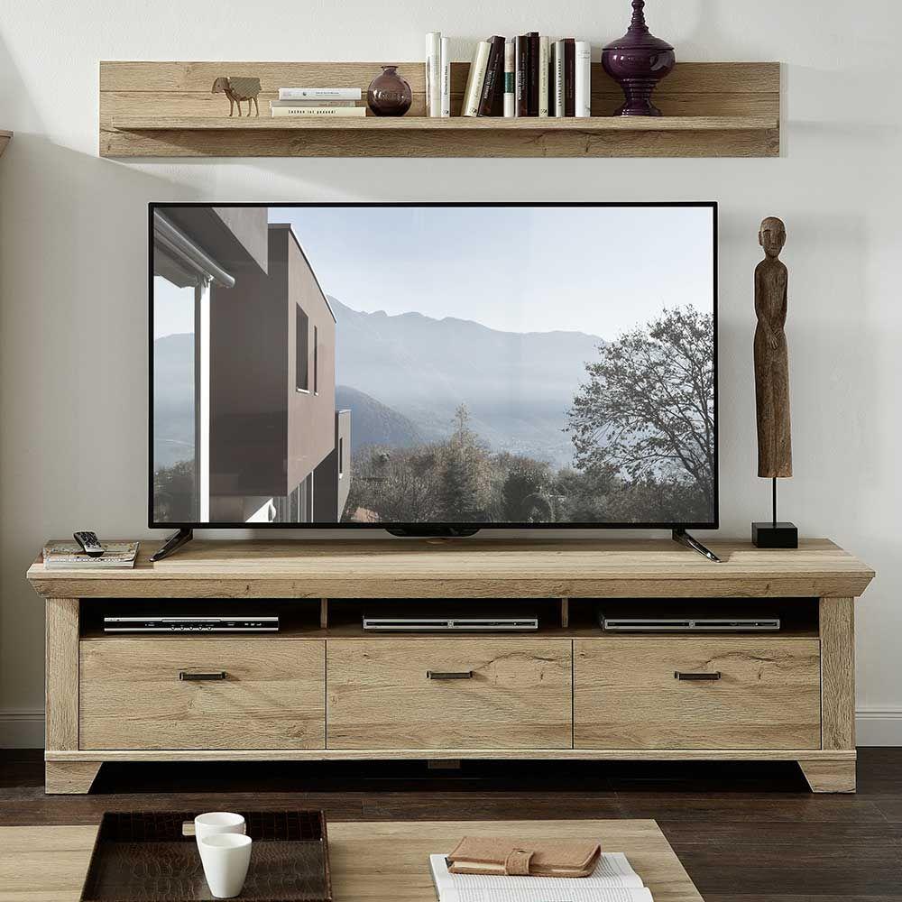 TV Board in Eiche hell Landhaus Jetzt bestellen unter: https://moebel.ladendirekt.de/wohnzimmer/tv-hifi-moebel/tv-lowboards/?uid=f7da17da-dd6a-59dd-9141-e42b69abc7b1&utm_source=pinterest&utm_medium=pin&utm_campaign=boards #fernsehmöbel #rack #phonoschrank #tvboard #phono #fernsehunterschrank #tische #tvhifimoebel #lowboard #fernsehtisch #unterschrank #möbel #phonomöbel #bank #fernseher #tvtische #fernseh #sideboard #tvlowboards #wohnzimmer #kommode