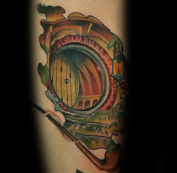 Top 51 Lord Of The Rings Tattoo Ideas 2020 Inspiration Guide Hobbit Tattoo Tattoos For Guys Back Tattoo