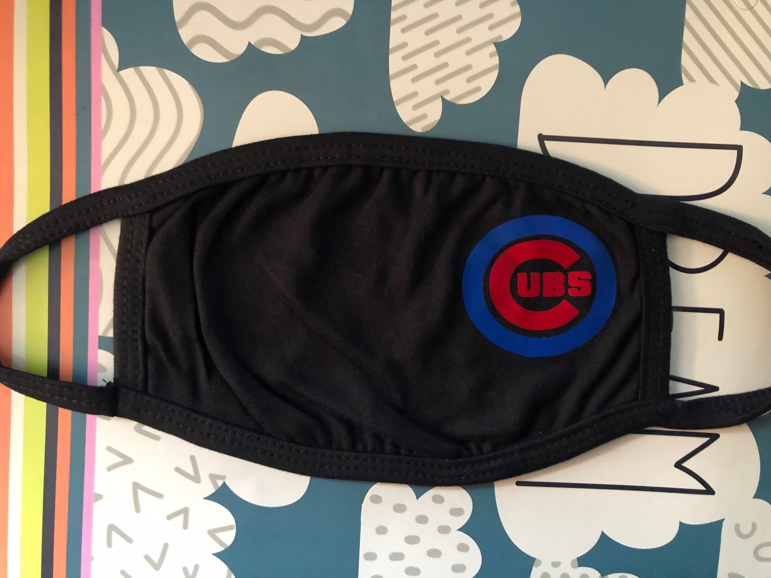 Chicago cubs cubs logo Facemask dust mask baseball