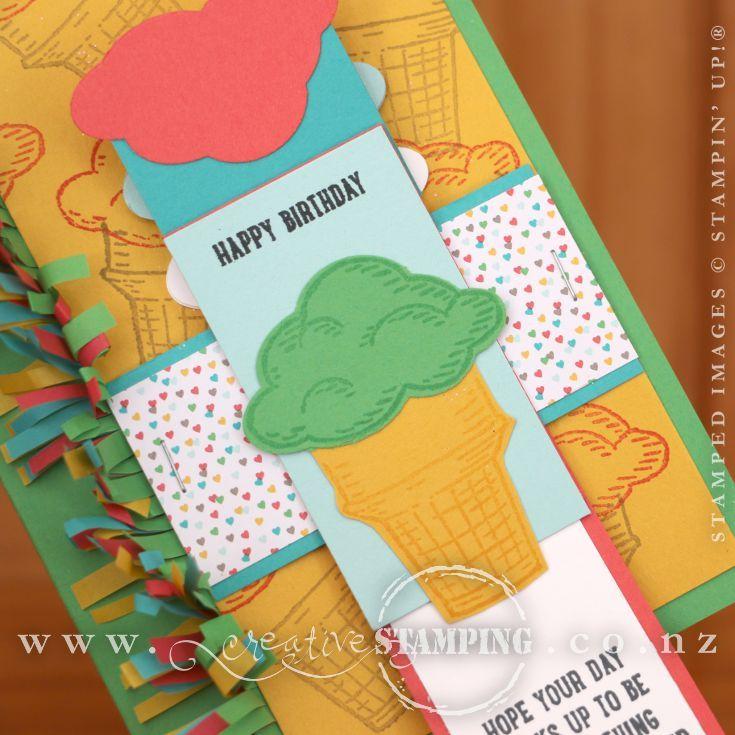 Sprinkles of Life Waterfall Card