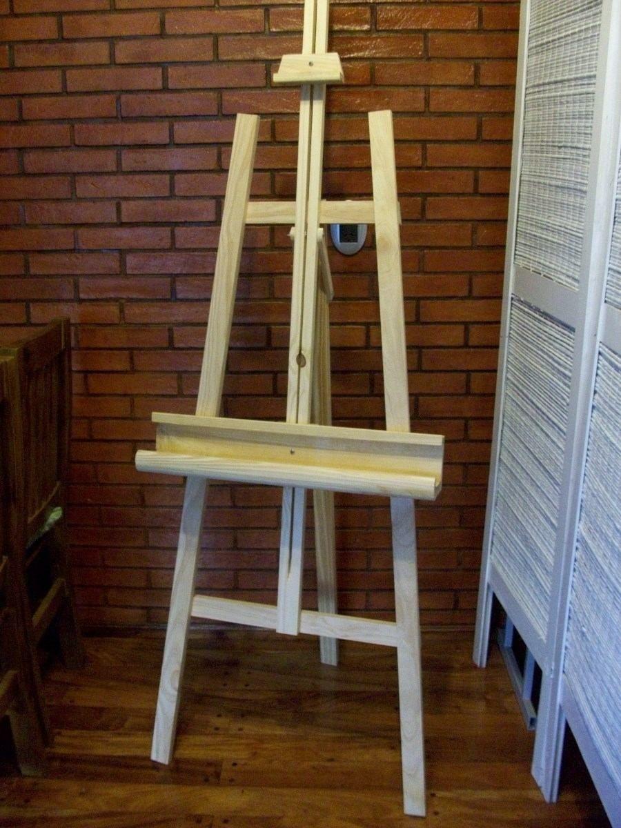 Atril para pintura dibujo en madera de pino atriles 219 99 en mercadolibre arte Pintura para pintar madera