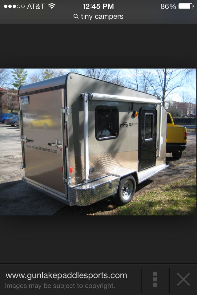 This is a cool utility trailer conversion.