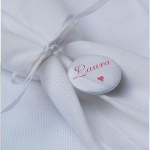Personalised Wedding Place Name Badges