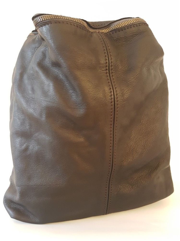 37acca639e76 Backpack Purses Bag Italian Genuine Leather Hand made in Italy Florence   fashion  clothing