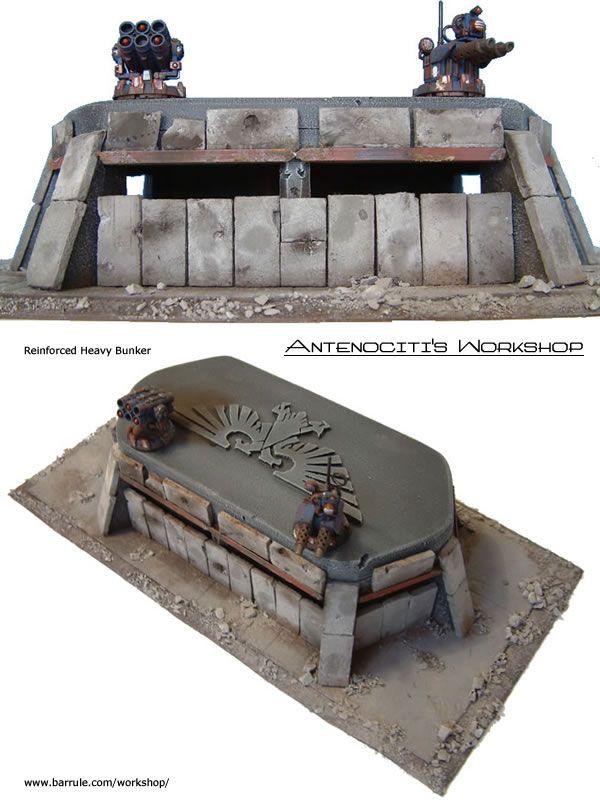 Reinforced Heavy Bunker - Sci-Fi | Tabletop Gaming (Miniwargaming