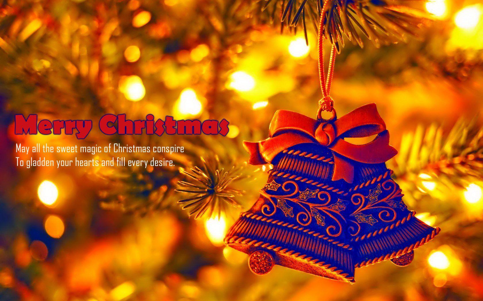 Christmas decoration bells hd wallpaper christmas happy christmas christmas 2014 alramifo Image collections