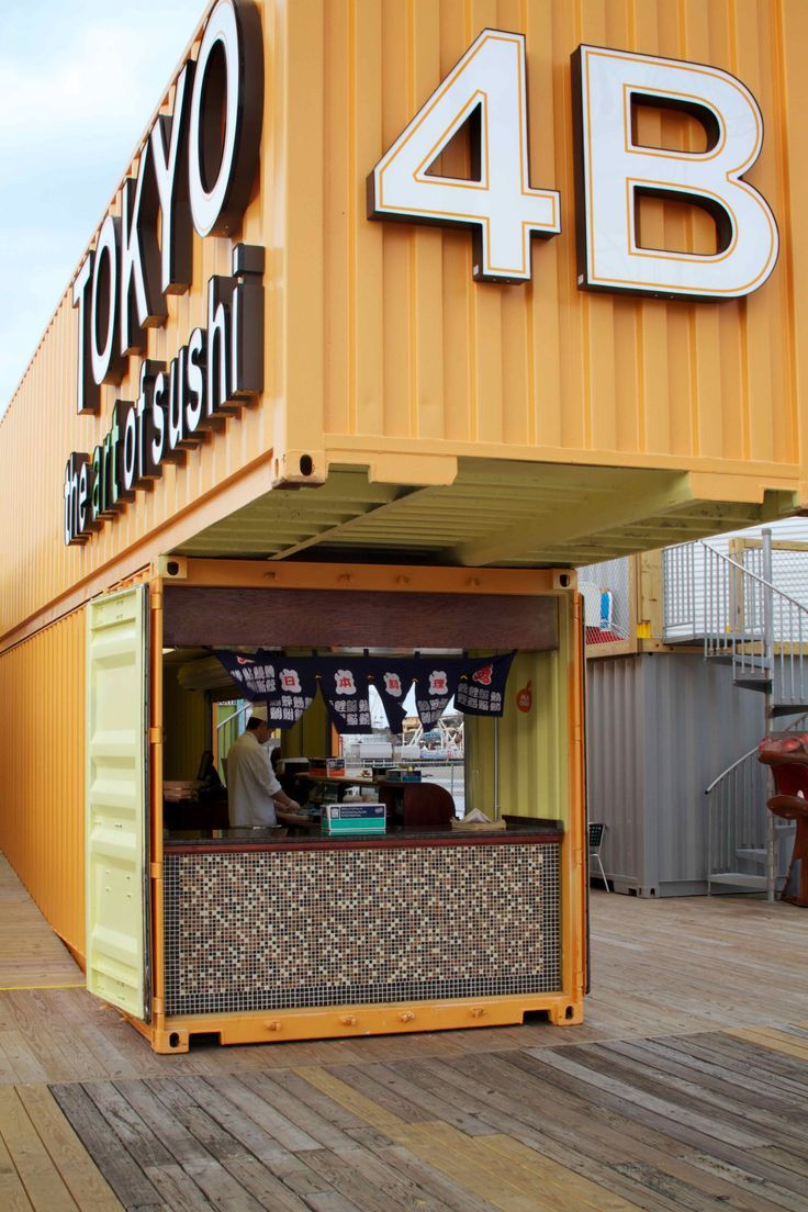 Best Kitchen Gallery: Morey's Piers Introduces Artbox Shipping Container Cafe Cafes And of Shipping Container Homes Build Piers on rachelxblog.com