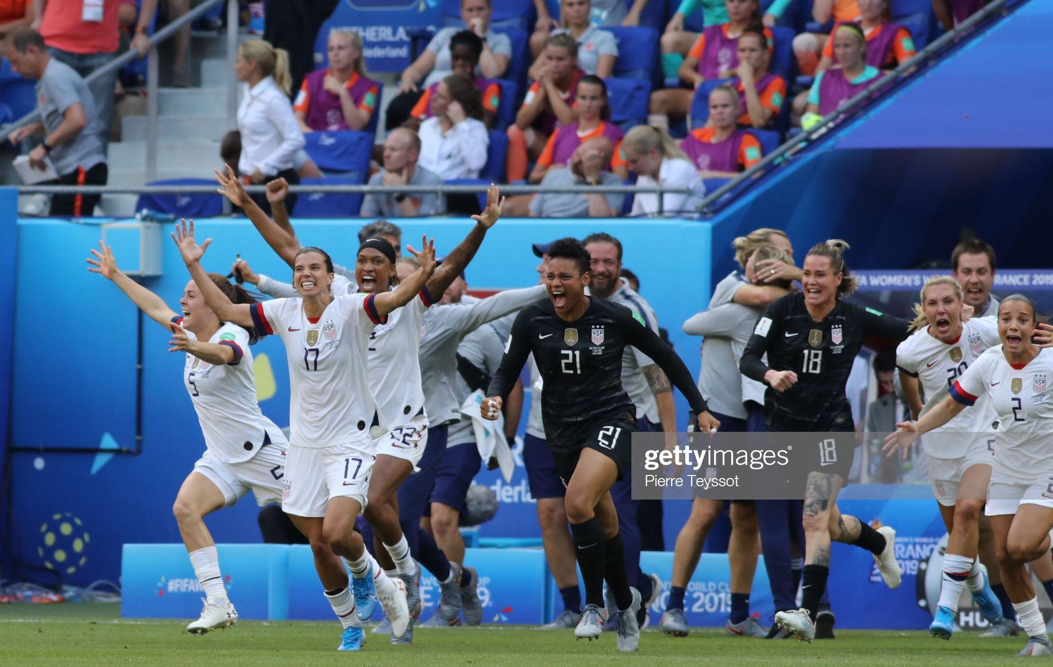 Uswnt World Cup Champions July 7 2019 World Cup Champions Champion Sports