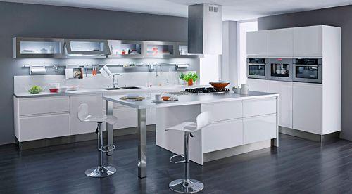Choisir le meuble de cuisine adapt votre espace as - Meuble de cuisine avec porte coulissante ...