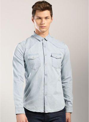 Denim Shirts for Men - Buy Men Denim Shirts Online in India ...