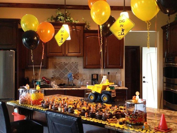 Tonka Truck 1st birthday party Fiestas Pinterest – Tonka Birthday Invitations