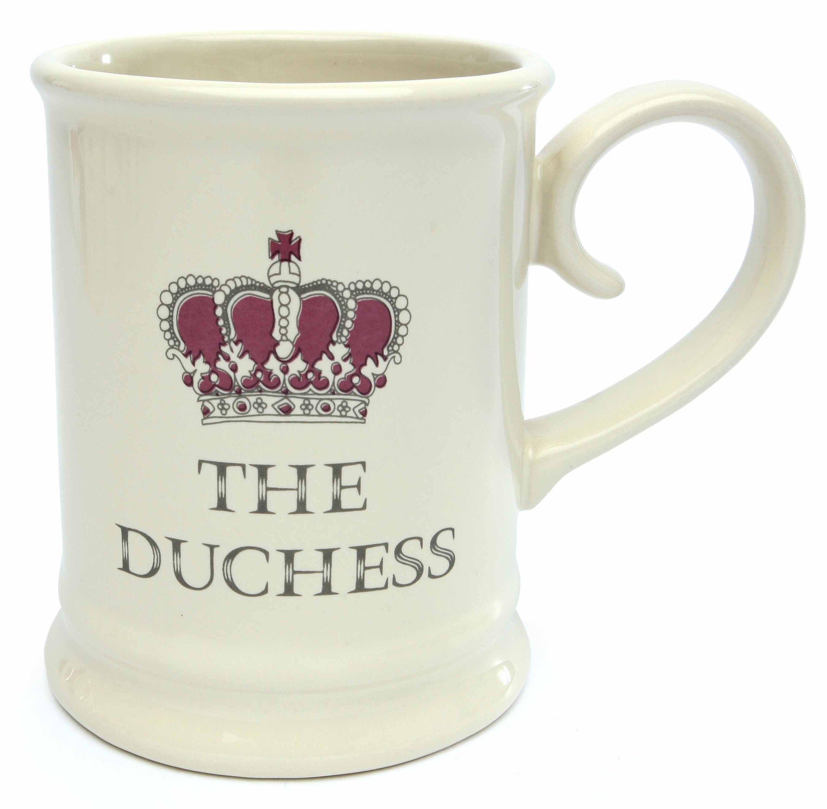 The Duchess Mug. Majestic Mug Range. David Mason Design