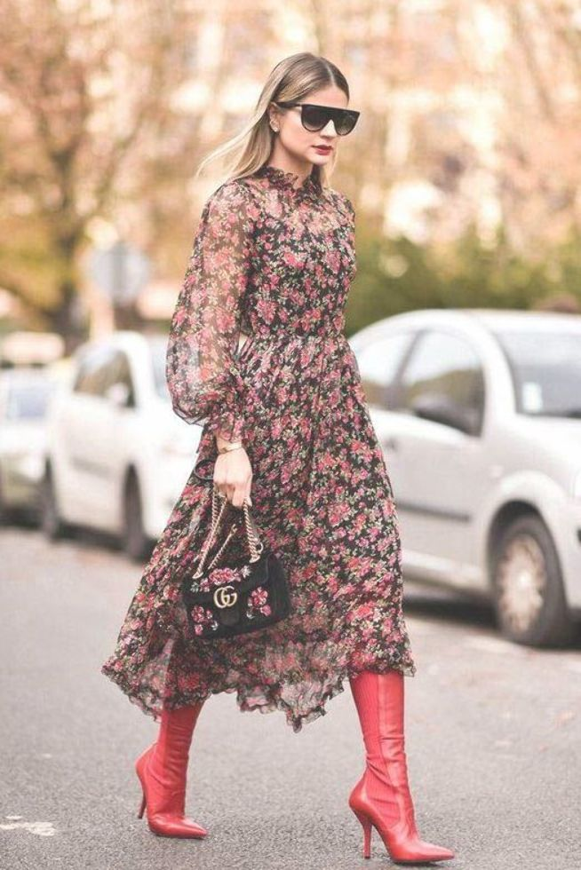 Long Sleeve Dress  Street style fashion   Pinterest fromluxewithlove