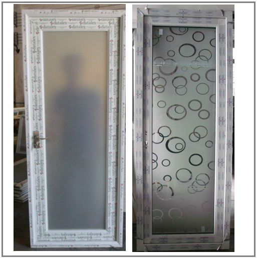 Frosted Glass Aluminium Bathroom Doors Designs View Mingqi Product Details From Guangzhou Door And Window
