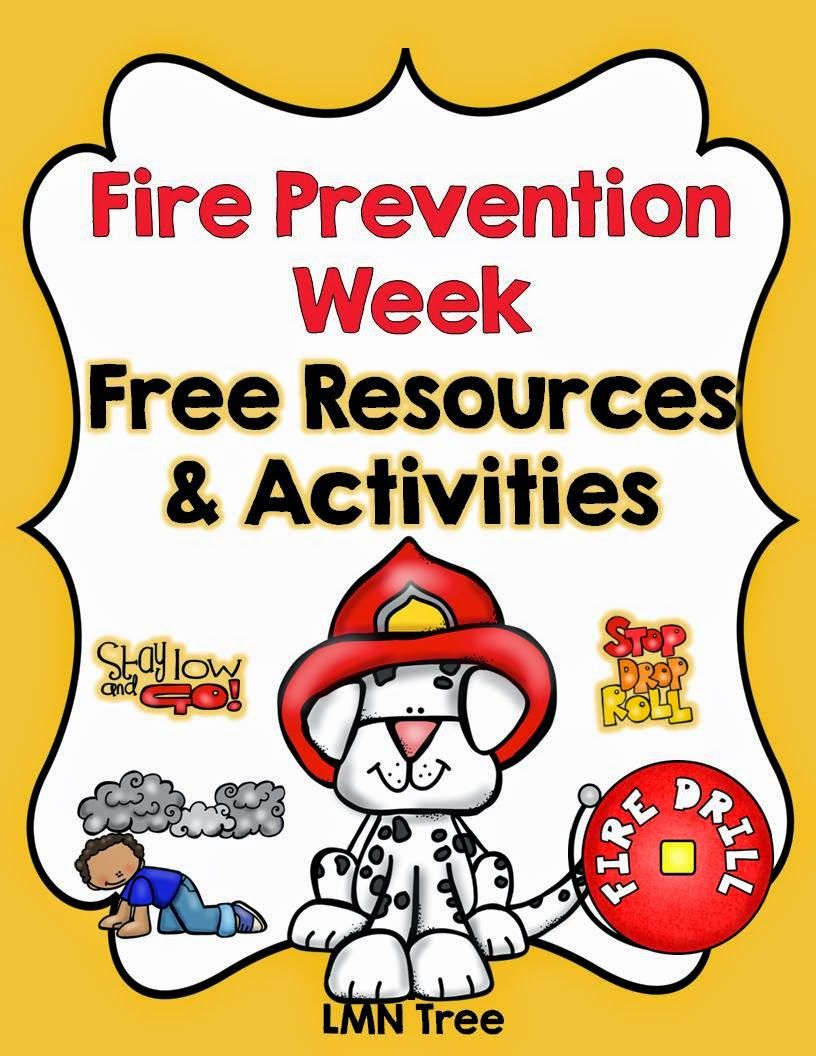 LMN Tree: Fire Prevention Week Free Resources and Activities