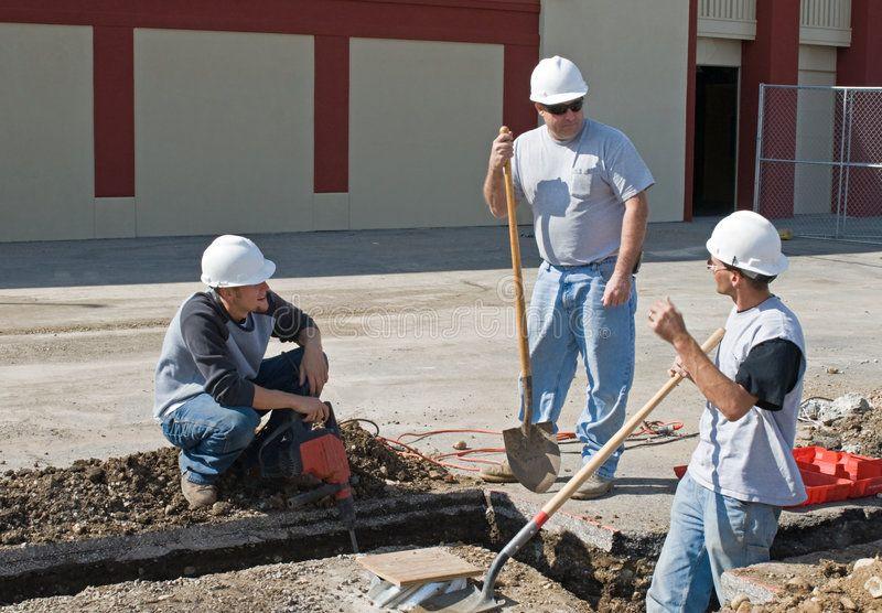 Construction discussion construction team problemsolving
