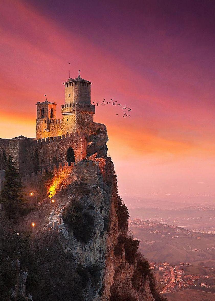 Castello della Guaita, San Marino, Italy ~ by ilhan1077 | Castelli ...