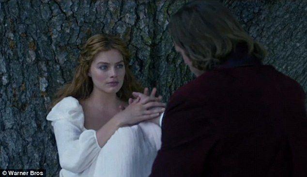 Legend Of Tarzan Movie Tarzan And Jane Margot Robbie Scene Tarzan