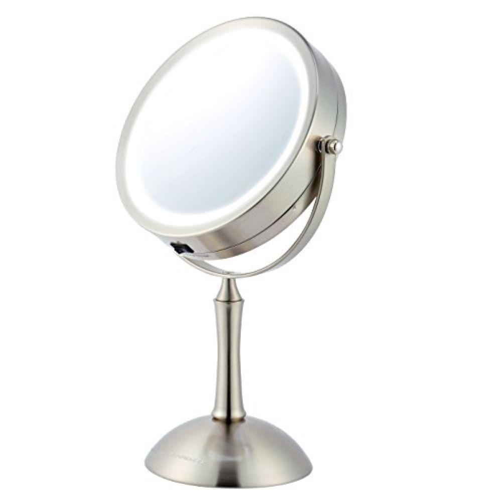 Ovente Lighted Makeup Mirror Cool Led Lighting Illuminated