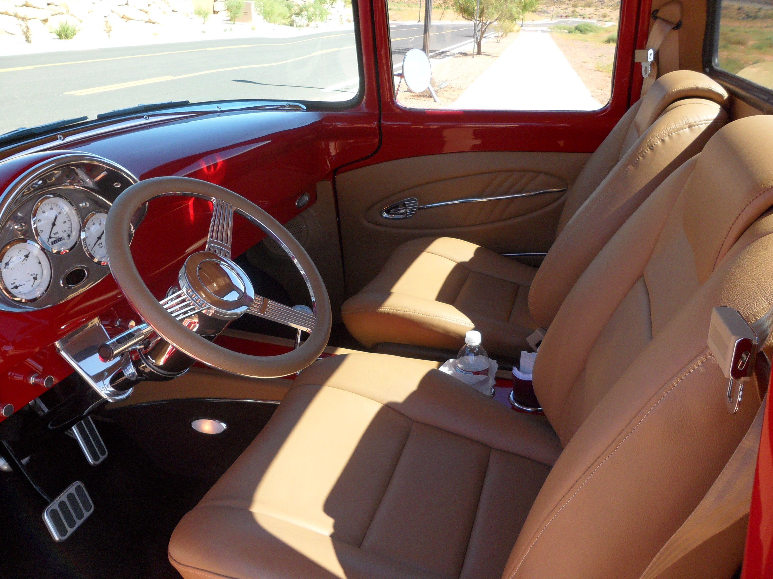 56 F100 Custom Interior Classic Truck Ford Interior Car Upholstery