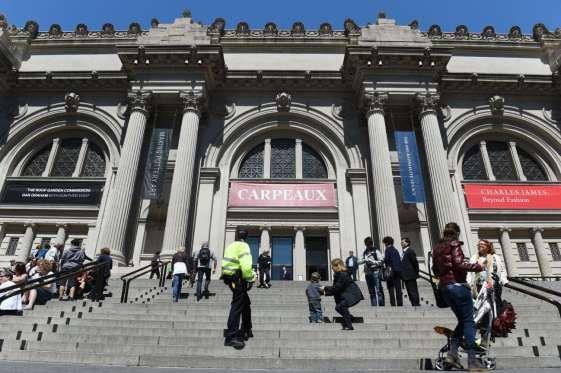 New York, New York; metmuseum.com - Stan Honda/Getty