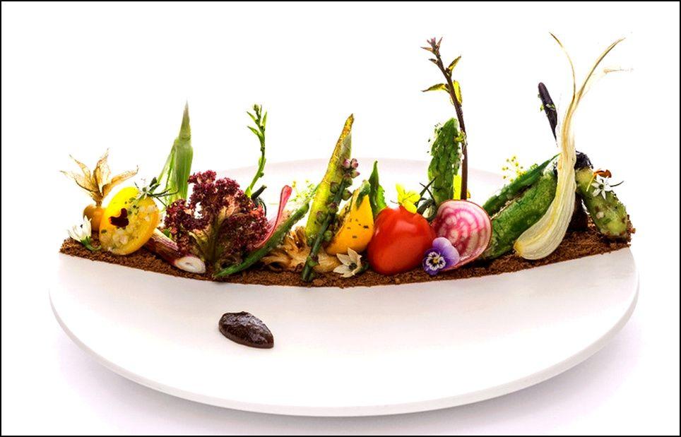 Visions gourmandes visions gourmandes l 39 art de dresser - Dressage des plats en cuisine ...