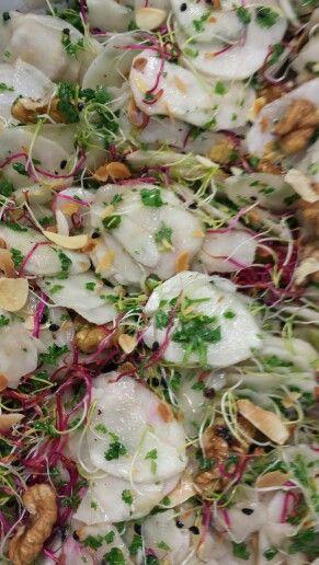 Salade de topinambours