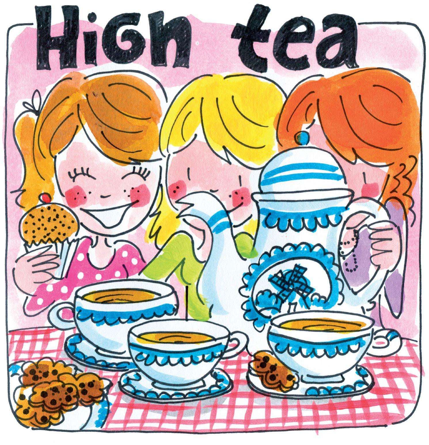 Verwonderlijk Hight tea kaart van Blond Amsterdam (met afbeeldingen)   Blond TG-91