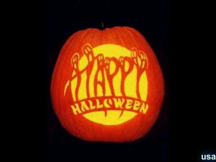 Halloween pumpkin Halloween Pinterest Pumpkin ideas