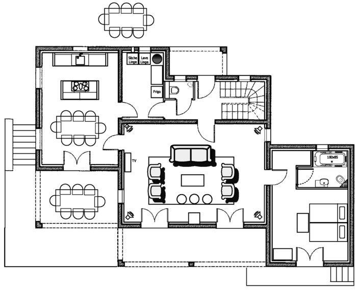 vrijstaande woning slaapkamer beneden - Google zoeken   indeling 7 ...