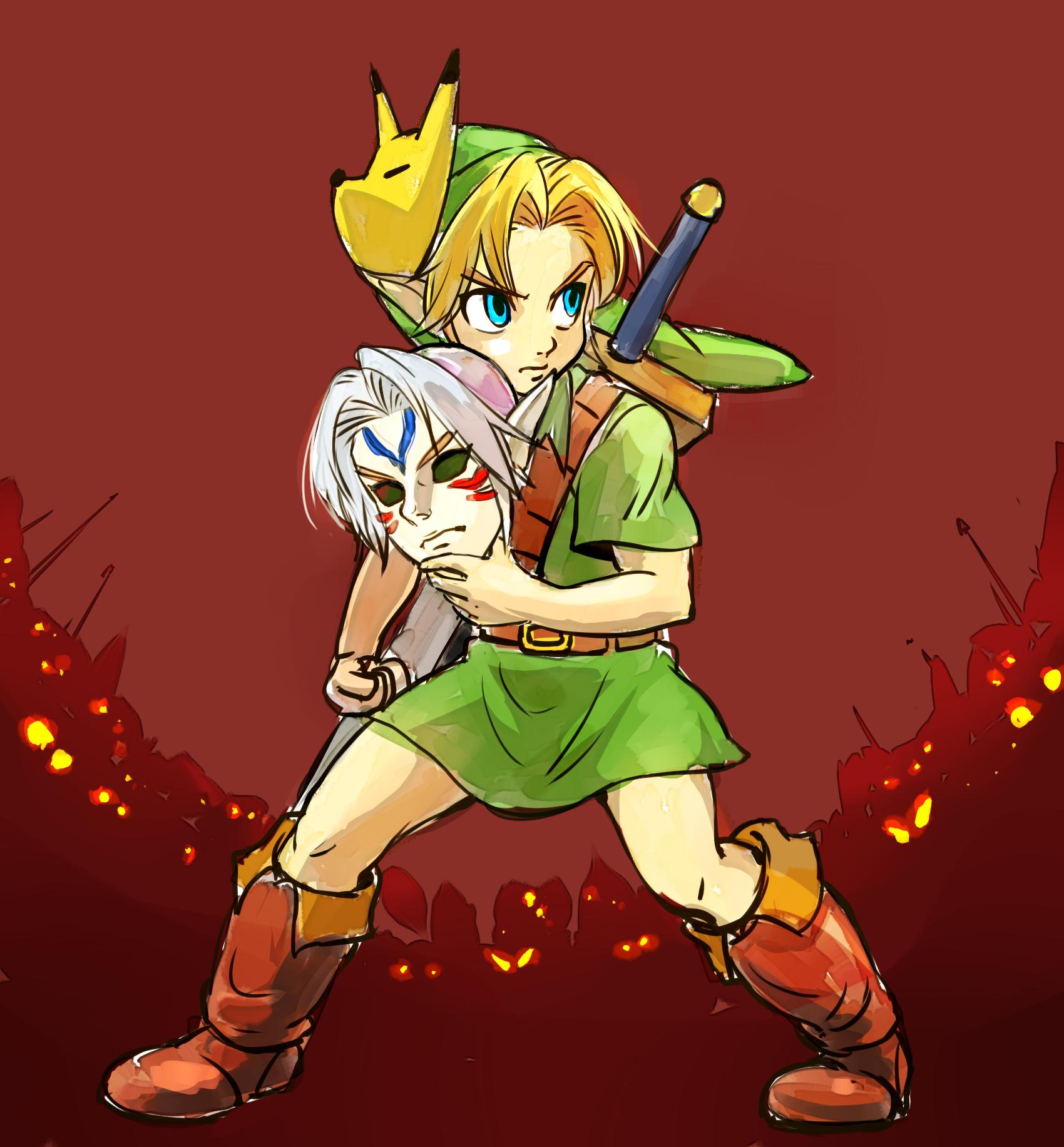 "The Legend Of Zelda Majora S Mask Young Link ¼ルダの伝説まとめ Æ¢Ÿ Á®æ¼«ç""» Pixiv 20 ļèª¬ ¼ルダの伝説 ¼ルダ"