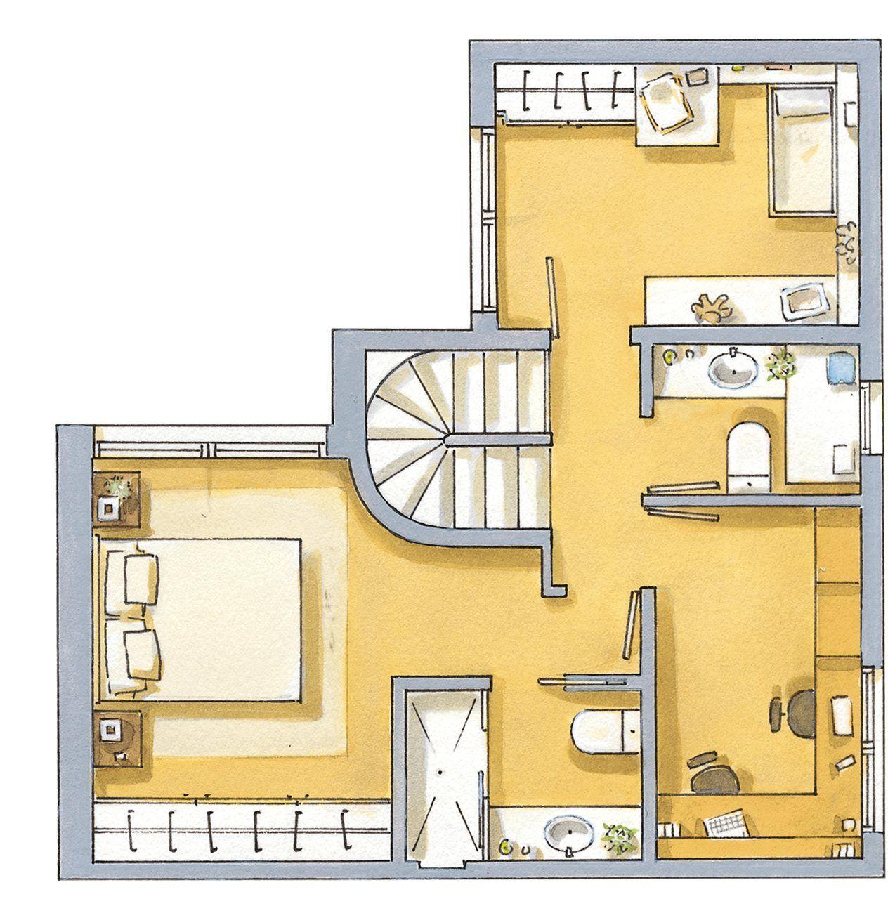 Primer piso dise os plantas de casas projeto for Diseno apartamentos duplex pequenos